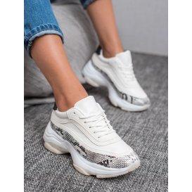Športové topánky s haďou potlačou
