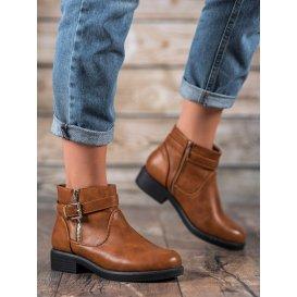 Hnedé topánky z eko kože
