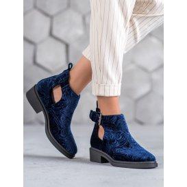 Velúrové topánky