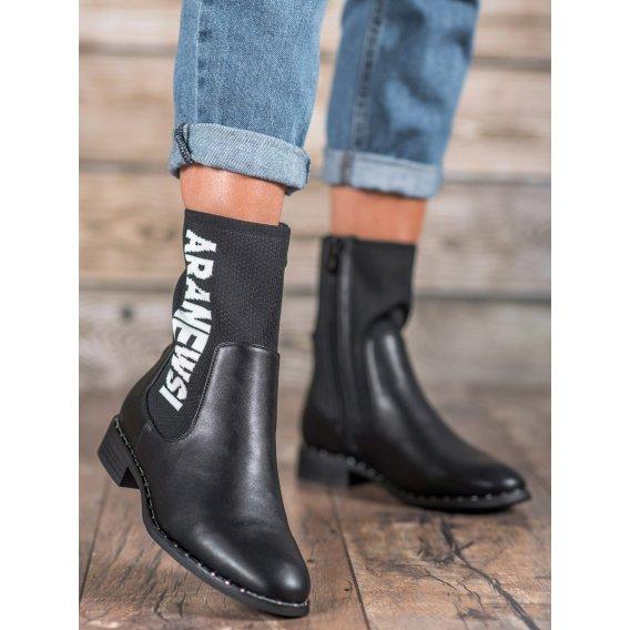 Vysoké topánky Vinceza