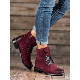 Semišové topánky Vinceza