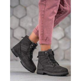 Zimné šedé topánky