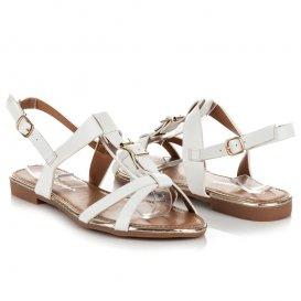 Ploché nastaviteľné sandále