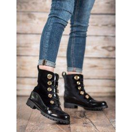Velúrové topánky so sťahovaním