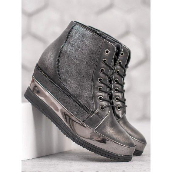 Strieborné sneakersy