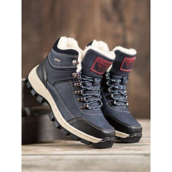 Zimné topánky na šnurovanie