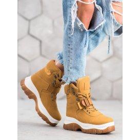 Zateplené členkové topánky Fashion