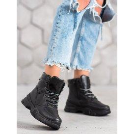 Členkové topánky na platforme Fashion
