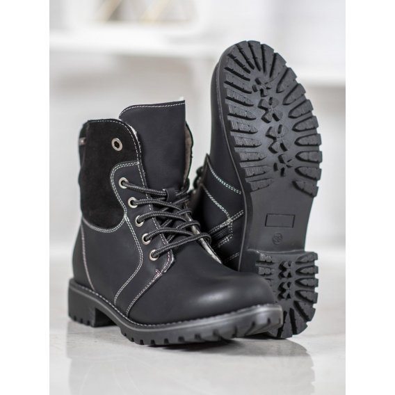Zateplené členkové topánky
