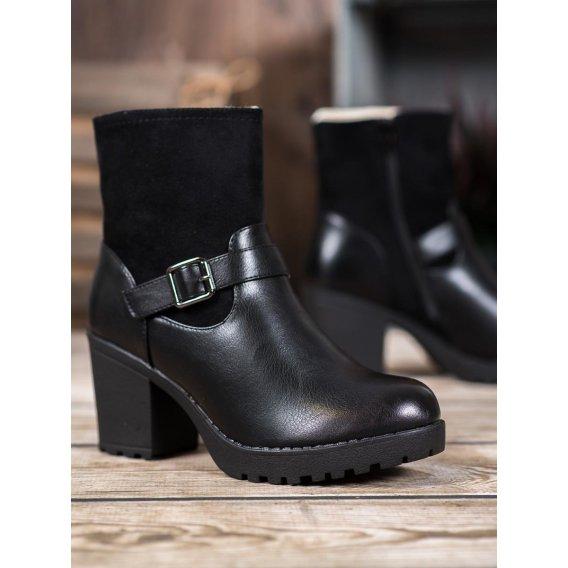 Módne členkové topánky na platforme