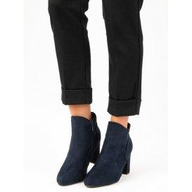 Elegantné semišové topánky K1809810MA