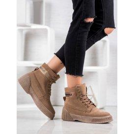 Viazané členkové topánky Fashion