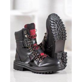Rockové topánky s prackou