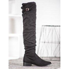 Štýlové čižmy nad kolená