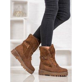 Šnurovacie členkové topánky