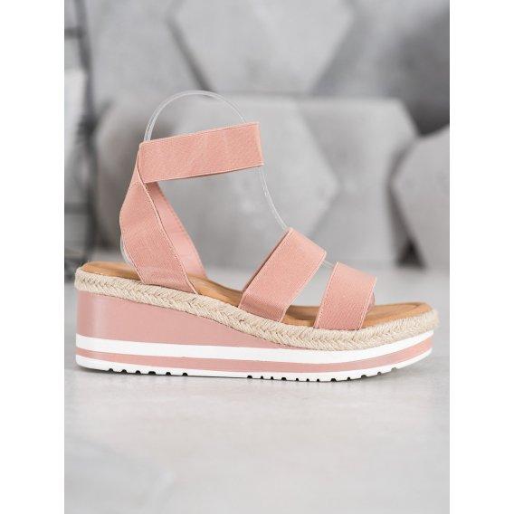 Sandálky na kline s gumičkou