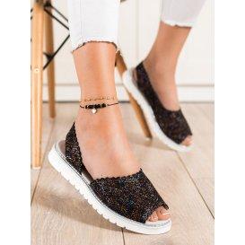 Pohodlné kožené sandálky