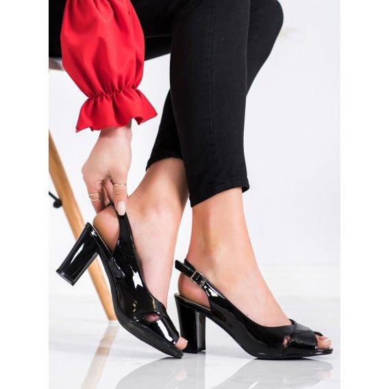 Lakované sandálky Sergio Leone