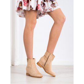 Elegantné členkové topánky na kline