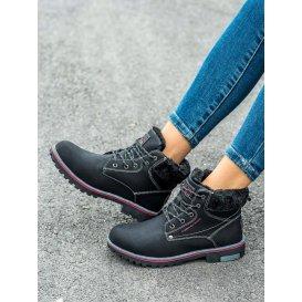 Zateplené trekingové topánky