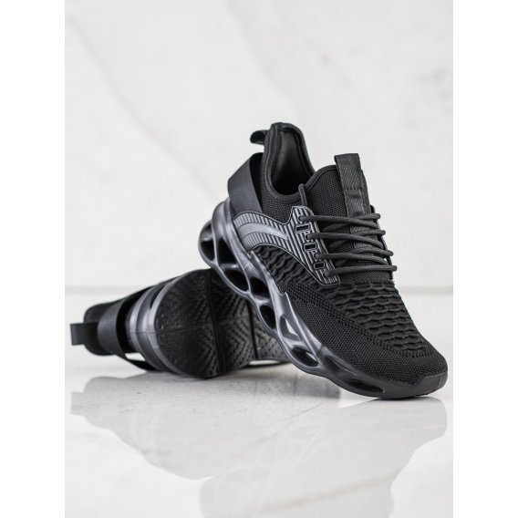 Čierne tenisky Fashion