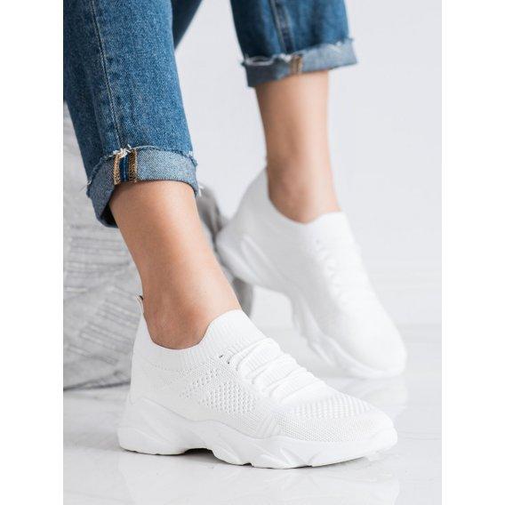 Biele topánky športové