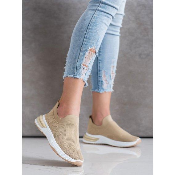 Nazúvacie dierkované sneakersy