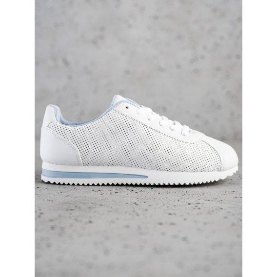 Štýlové dierkované sneakersy