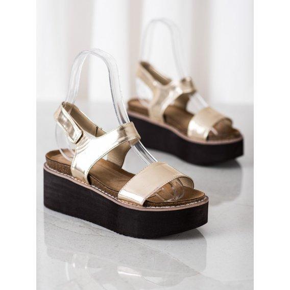 Sandálky na platforme Fashion
