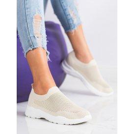 Nazúvacie topánky so sieťkou