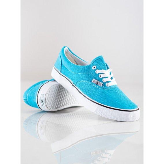 Modré tenisky