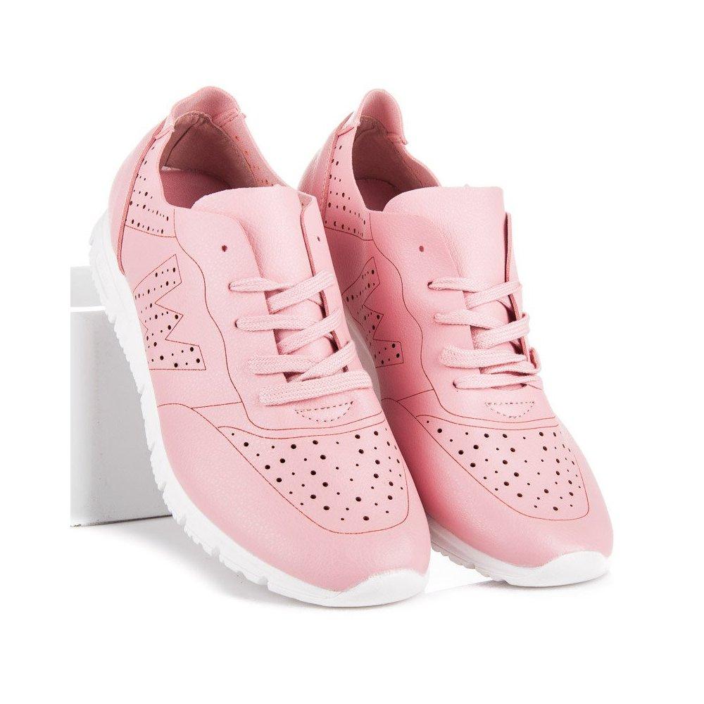 cefbce5006273 Ružové tenisky AB-85P - RioTopanky.sk