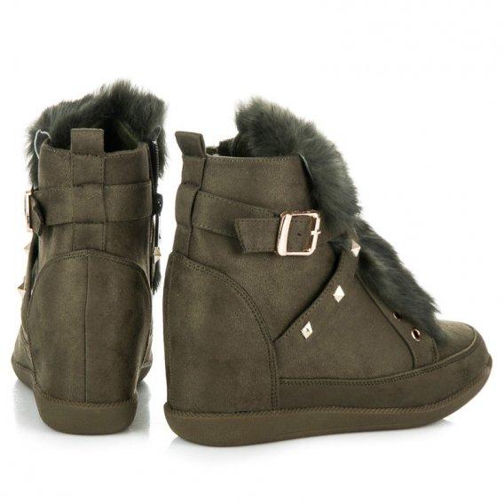 Sneakery s kožúškom 1714201VE